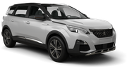 DOLLAR Car rental Killarney - Town Centre Van car - Peugeot 5008