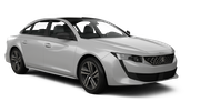 RHODIUM Car rental Cirkewwa - Downtown Fullsize car - Peugeot 508