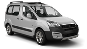 FIRST Car rental Malta - St. Julians Van car - Peugeot Partner
