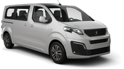 EUROPCAR Car rental Paris - Porte Maillot Van car - Peugeot Traveller