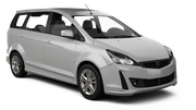 AVIS Car rental Penang - International Airport Van car - Proton Exora