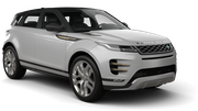HERTZ Car rental Milwaukee Airport Suv car - Range Rover Evoque