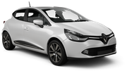 BUDGET Car rental Dublin - Central Economy car - Renault Clio