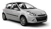 INTERRENT Car rental Paris - Batignolles Economy car - Renault Clio