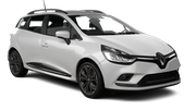 BUDGET Car rental Nis Airport Standard car - Renault Clio Estate
