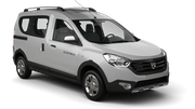 BUDGET Car rental Casablanca - Airport Van car - Dacia Dokker