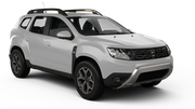 THRIFTY Car rental Abu Dhabi - Downtown Suv car - Renault Duster