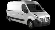 BUDGET VANS Car rental Peterborough Van car - Renault Master Cargo Van