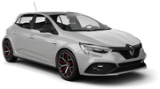 BUDGET Car rental Esch Alzette Downtown Compact car - Renault Megane