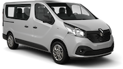 EXPRESS Car rental Bialystok Van car - Renault Trafic