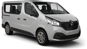 ALAMO Car rental Tivat Airport Van car - Renault Trafic