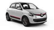 ALAMO Car rental Luxembourg Railway Station Mini car - Renault Twingo