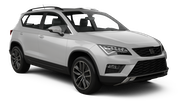 SIXT Car rental St Barthelemy Gustaf Iii Airport Suv car - Seat Ateca