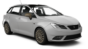 DISCOVERY Car rental Albufeira - West Standard car - Seat Ibiza Estate