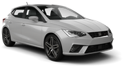 EUROPCAR Car rental Albufeira - West Economy car - Seat Ibiza