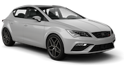 SIXT Car rental Stoke-on-trent Compact car - Seat Leon