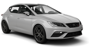 ALAMO Car rental Luxembourg Railway Station Compact car - Seat Leon
