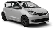HERTZ Car rental Podgorica Airport Mini car - Skoda Citigo