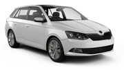 EUROPCAR Car rental Luxembourg Railway Station Standard car - Skoda Fabia Estate
