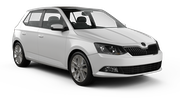 GOLDCAR Car rental Podgorica Airport Economy car - Skoda Fabia