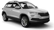 HERTZ Car rental Podgorica Airport Suv car - Skoda Karoq