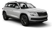 BUDGET Car rental Ljubljana - Railway Station Suv car - Skoda Kodiaq