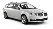 HERTZ Car rental Plymouth Standard car - Skoda Octavia Estate