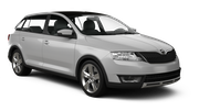 GOLDCAR Car rental Podgorica Airport Compact car - Skoda Rapid