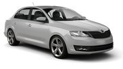 RHODIUM Car rental Tivat Airport Compact car - Skoda Rapid