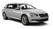 SIXT Car rental Doncaster Standard car - Skoda Superb Estate