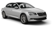 SIXT Car rental Luton Standard car - Skoda Superb