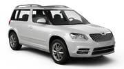 SIXT Car rental Larnaca - Airport Suv car - Skoda Yeti