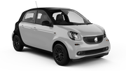 AVIS Car rental Paphos City Mini car - Smart Forfour