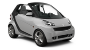 SADORENT Car rental Porto - Airport Convertible car - Smart Fortwo Convertible