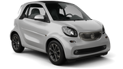 SIXT Car rental Girona - Costa Brava Airport Mini car - Smart Fortwo