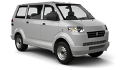STOUTES Car rental Barbados - Island Delivery Van car - Suzuki APV