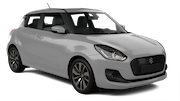 AVIS Car rental Abu Dhabi - Intl Airport Economy car - Suzuki Swift