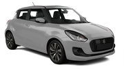 HERTZ Car rental Newcastle Downtown Economy car - Suzuki Swift