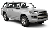 EUROPCAR Car rental La Serena - Downtown Suv car - Toyota 4Runner