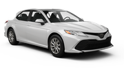 NU Car rental Fullerton - La Mancha Shopping Center Standard car - Toyota Corolla