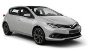 INTERRENT Car rental Tivat Airport Compact car - Toyota Auris
