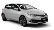 INTERRENT Car rental Nis Airport Compact car - Toyota Auris
