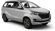 CITY CAR Car rental Beirut Airport Van car - Toyota Avanza