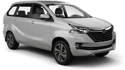 EUROPCAR Car rental Abu Dhabi - Downtown Van car - Toyota Avanza