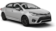 BUDGET Car rental Dublin - Central Standard car - Toyota Avensis