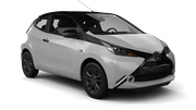 AVIS Car rental Cirkewwa - Downtown Mini car - Toyota Aygo