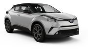 BUDGET Car rental Esch Alzette Downtown Suv car - Toyota C-HR