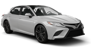 ENTERPRISE Car rental Sacramento Int'l Airport Standard car - Toyota Camry
