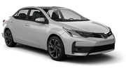 INTERRENT Car rental Dubai - Intl Airport Standard car - Toyota Corolla