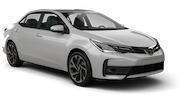 INTERRENT Car rental Al Maktoum - Intl Airport Standard car - Toyota Corolla
